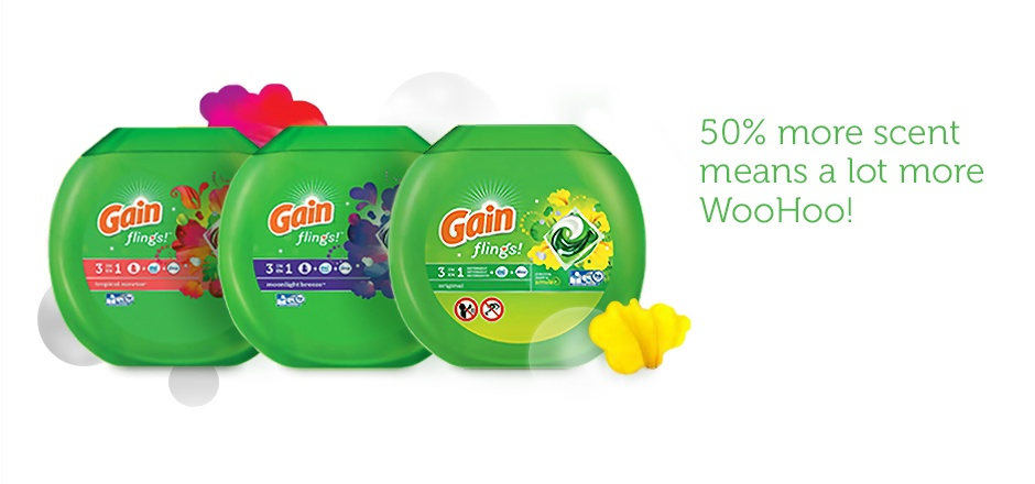Gain's newest scent keeps on keepin' on!