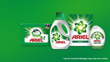 Ariel Laundry Detergent Products - Ingredients