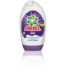 Ariel Washing Gel Colour & Style