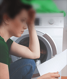 Instructions for new washing machine