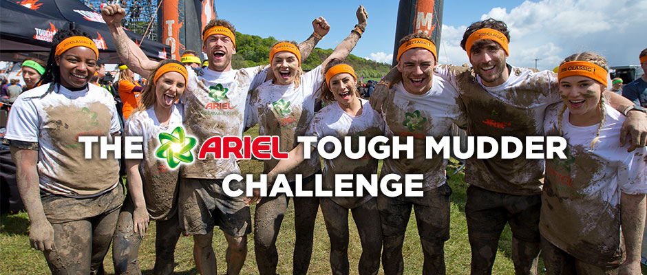 Learn more about the Ariel tough mudder challenge
