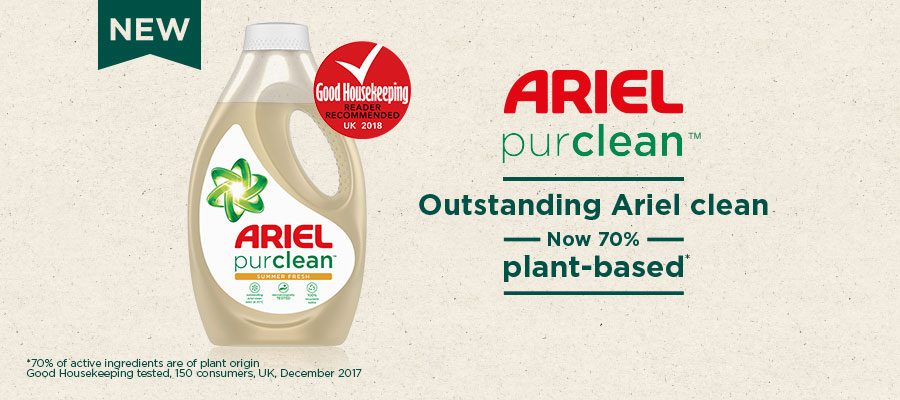 Ariel purclean™ Liquid Detergent