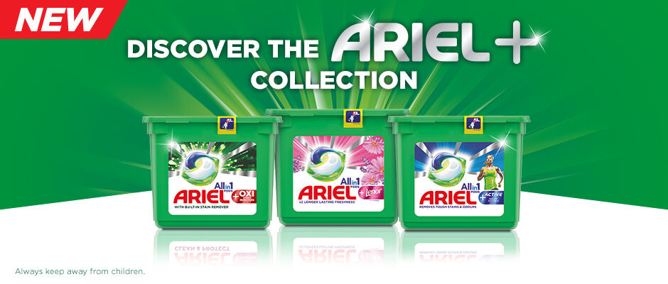 Discover Ariel+ collection