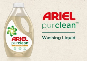 Image alternative text	Ariel purclean™ Liquid Detergent