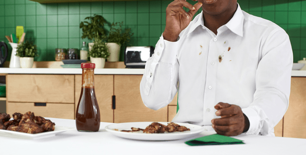 How to remove BBQ sauce stains