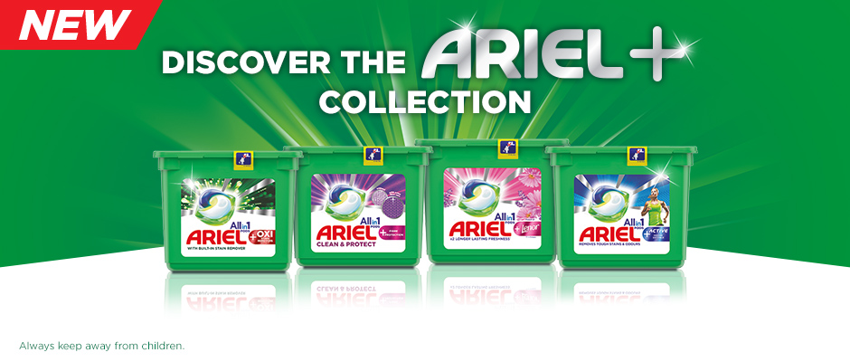 Discover the Ariel Plus collection