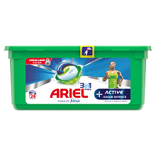 Ariel Active 3in1 PODS + Odour Defence