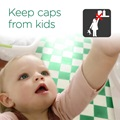 Keep caps from kids