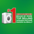 #1 recommended brand by more top selling washing machine makers globally