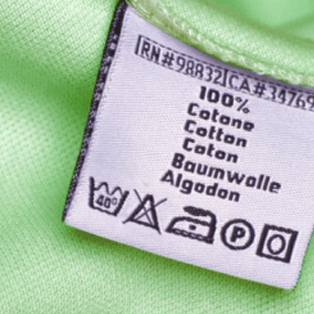 Fabric care labels