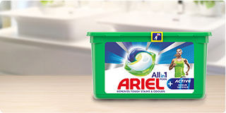 Ariel All in 1 PODS plus active odour defence