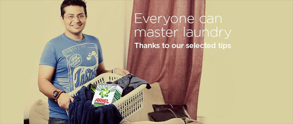 Everyone can master laundry