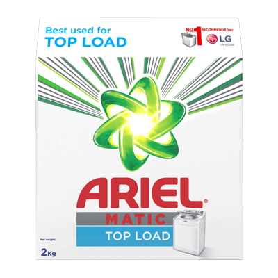 Ariel Matic Top Load Washing Machine Powder