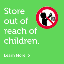 Store out of reach of children
