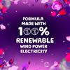 Gain Midnight Bloom product line formula is made with 100% renewable wind power electricity