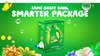 Same great Gain, smarter package with Gain Original Eco-Box Liquid Laundry Detergent