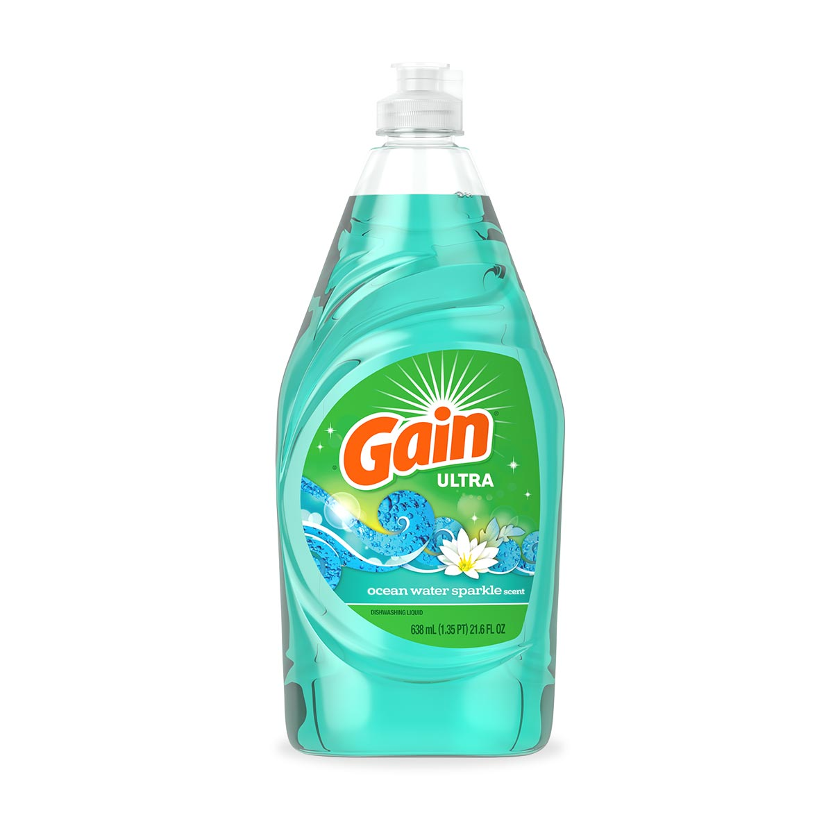 Ocean Water Sparkle Dish Soap
