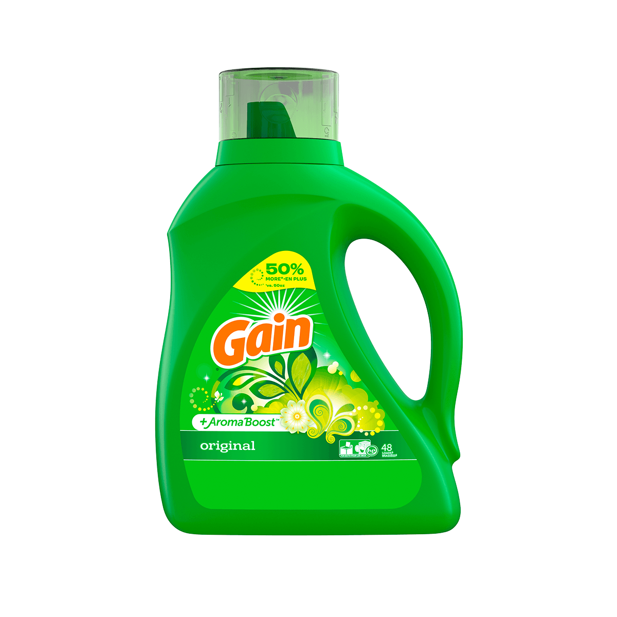 gain original liquid laundry detergent gain