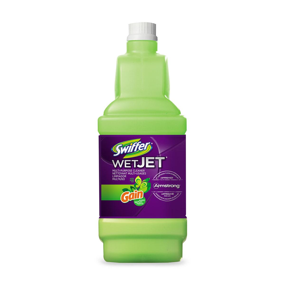 Swiffer Wet Jet Multi-Purpose Solution Refills With Gain