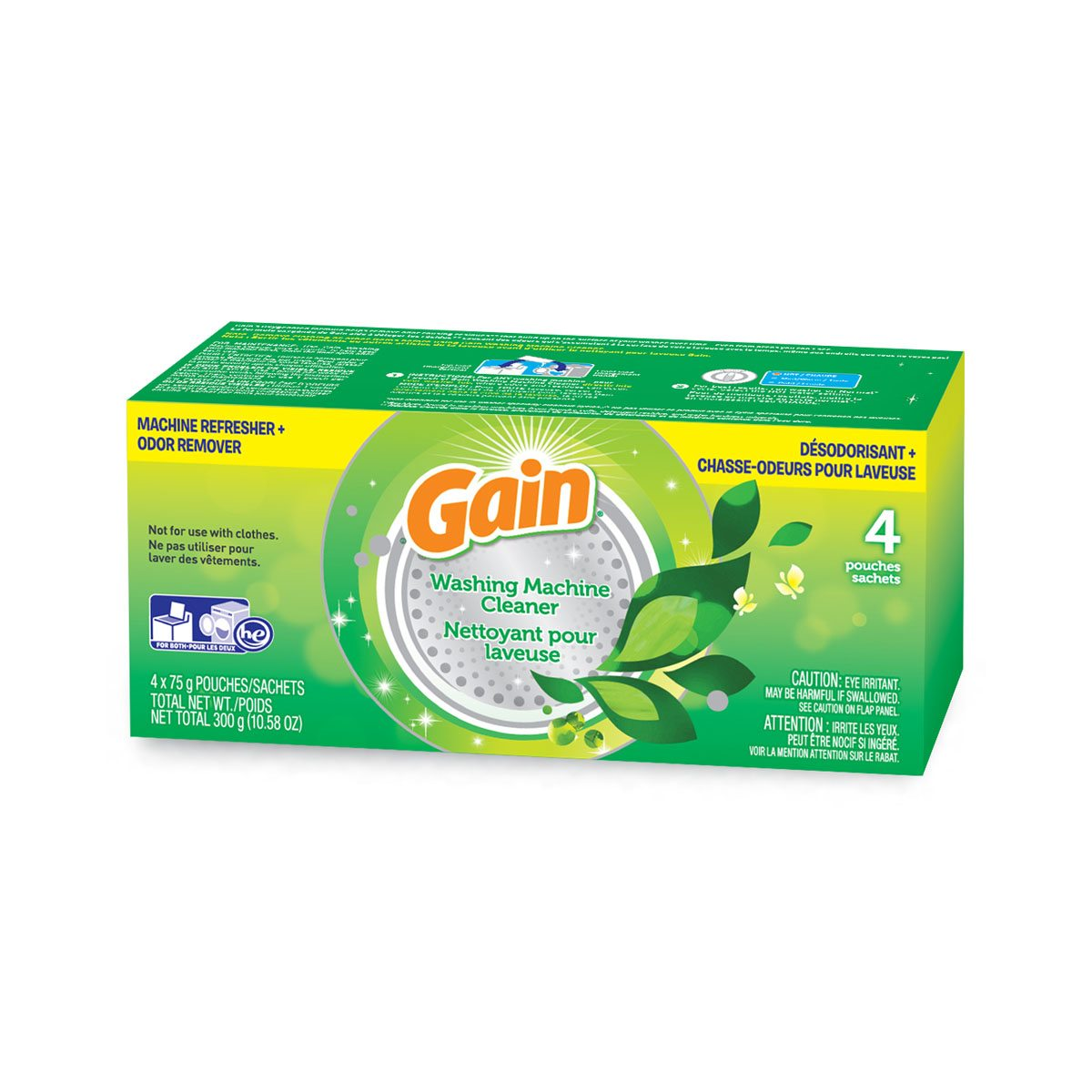 Washing Machine Cleaner with Gain Original Scent