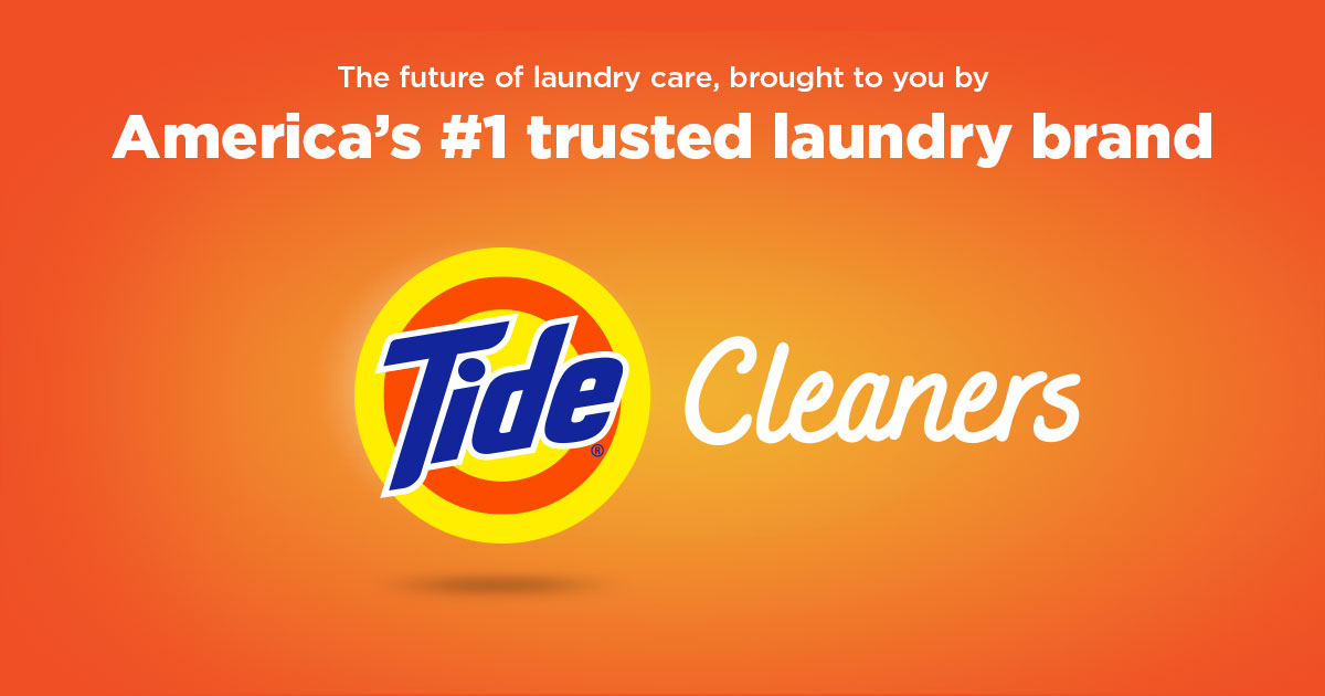 Introducing Tide Cleaners 24 7 Dry Cleaning And Laundry