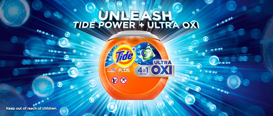 Unleash Tide power with Ultra OXI