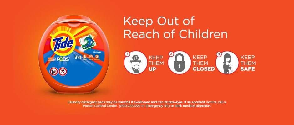 How you can keep detergent out of reach of children