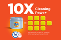 Tide Plus A Touch of Downy liquid laundry detergents offer 10x cleaning power