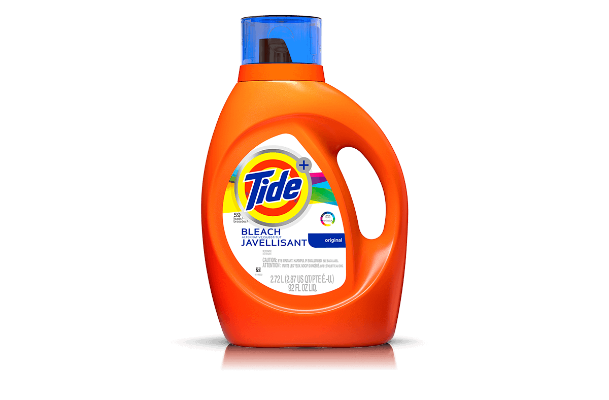 Tide Plus Bleach Alternative Liquid Laundry Detergent