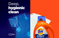 Tide Hygienic Clean Heavy Duty 10X Liquid Laundry Detergent gives your clothes a deep, hygienic clean.