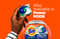Tide Hygienic Clean Heavy Duty 10X Liquid Laundry Detergent is also available in POWER PODS.