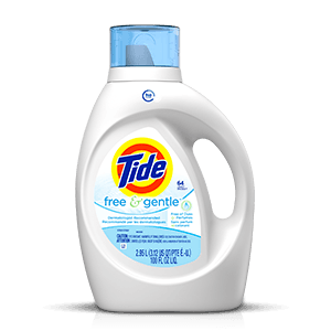 Tide Free and Gentle High Efficiency Liquid
