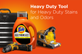 Tide Heavy Duty liquid detergent is the tool to deal with heavy duty stains and odors