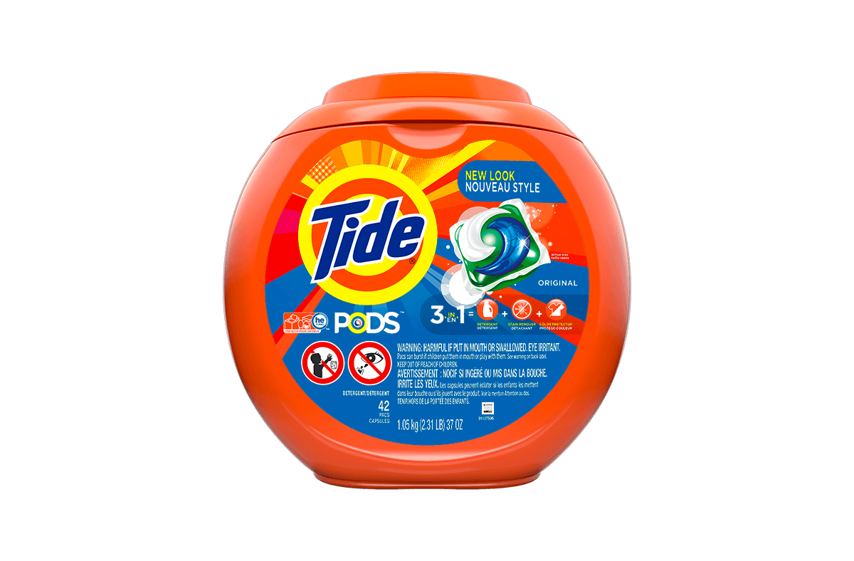 Laundry Detergent Pacs | Tide PODS® Original