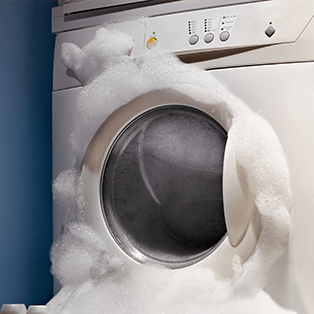 Too many suds in the washer how to wash clothes tide - Common washing machine problems ...
