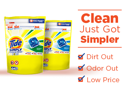Tide Simply Clean Amp Fresh Pods Laundry Pacs Tide