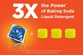 3x the Power* of Baking Soda Liquid Detergent