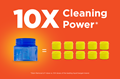 10x Cleaning Power