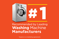 #1 Recommended by Leading Washing Machine Manufacturers
