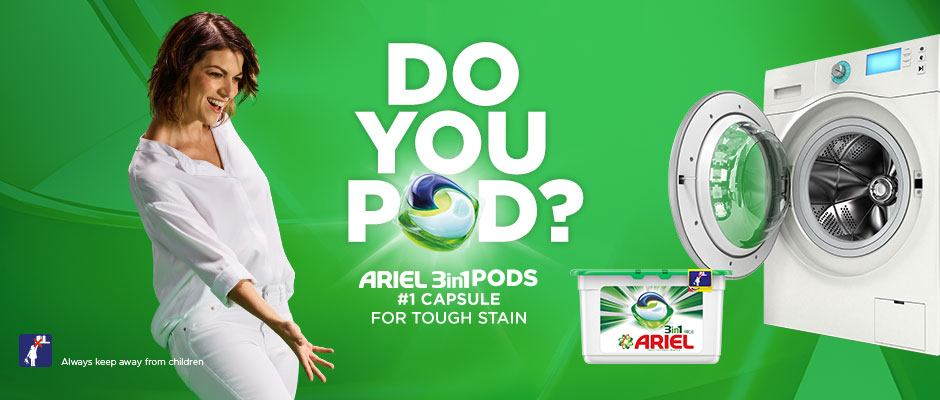 Laundry Detergent and Fabric Care |Ariel