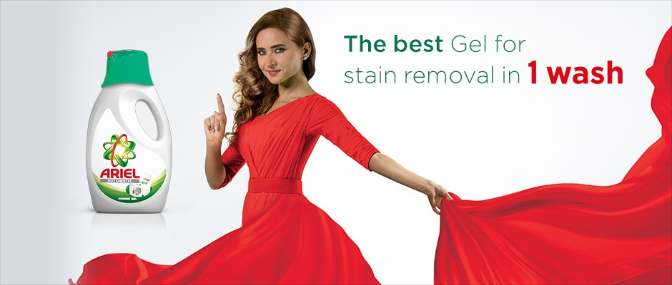 The best Gel for stain removal in 1 wash