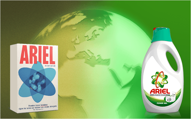 About Ariel | History and Products