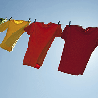 How to wash colour garments