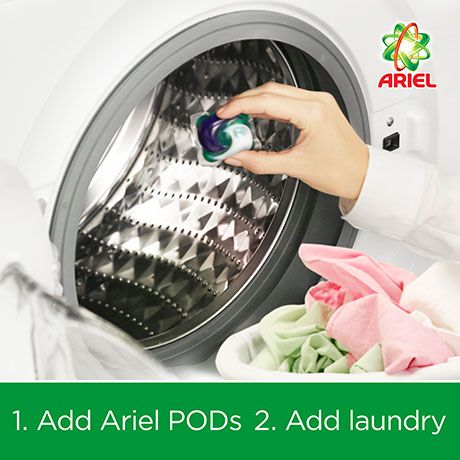 Ariel Automatic 3in1 Pods With A Touch Of Downy