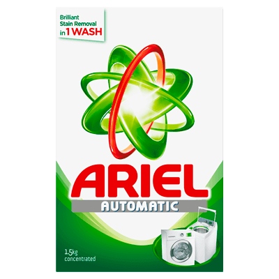 Ariel Automatic Washing Powder Laundry Detergent Original Perfume 1.5kg