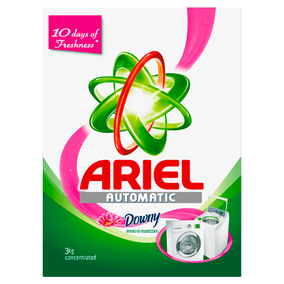 Ariel Automatic Washing Powder Laundry Detergent Touch of Freshness Downy Original 3kg