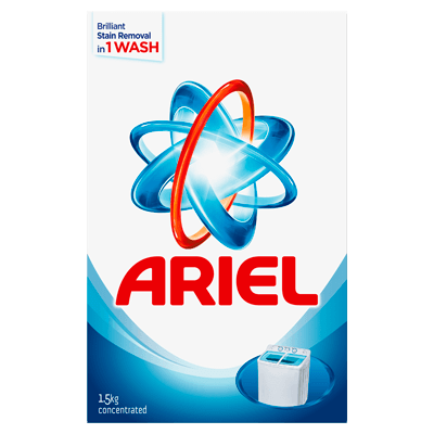 Ariel Washing Powder Laundry Detergent Original Perfume 1.5kg