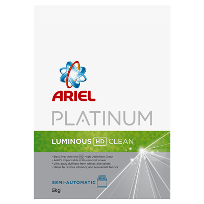 Ariel Platinum Fragrant HD Clean Semi-Automatic washing powder