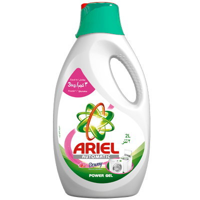Ariel Automatic Power Gel Touch of Downy 2L