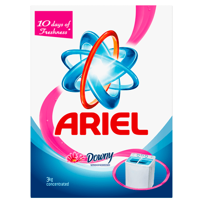 Ariel Washing Powder Laundry Detergent Touch of Freshness Downy Original 3kg